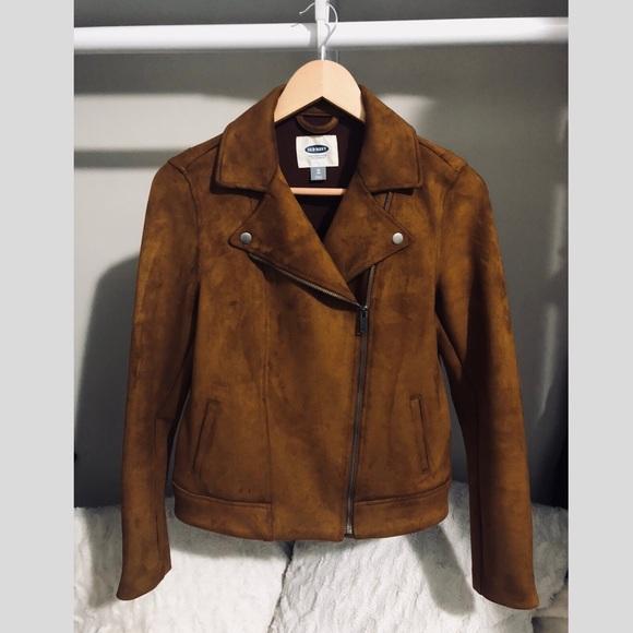 33ac613061 Sueded knit moto jacket. M 5b66694edcfb5a48468a7612
